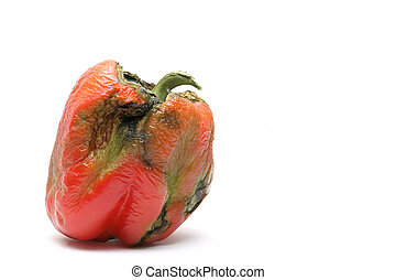 not-so-fresh bell pepper - a not so fresh bell pepper - took...