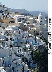Santorini by day, Greece