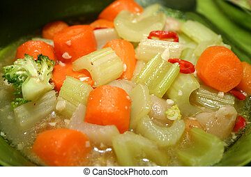 Boiled vegetables - Mixed vegetable stew