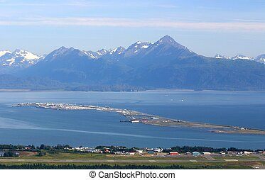 The Spit - The Homer Spit is a four and a half mile strip of...
