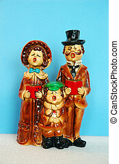 Christmas Carolers - Vintage Christmas Caroler figurines...