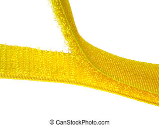 Velcro hook and loop strips joining
