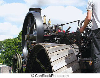 traction wheels - details of a traction engines wheels