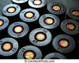 cartridges - 9mm bullets