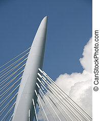 Suspension bridge 1 - Suspension bridge, Utrecht, Holland