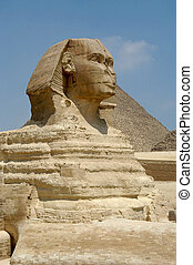 Sphinx at Giseh, Caito, Egypt
