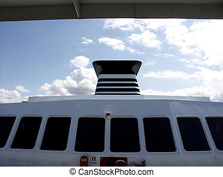 Captains Quarters - Captains deck on Seattle to Bainbridge...
