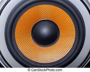 Loudspeaker - a Kevlar loudspeaker cone