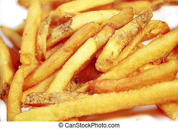 fast food - deep fried potatoes