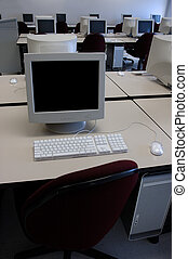 Computer Lab - Computer Classroom at a College