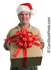 navidad, entrega