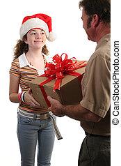 especial, navidad, entrega
