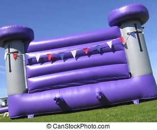 Bouncy castle - Purple bouncy castle