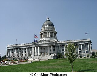 Salt Lake Capitol - Salt Lake City Capitol, Utah, U.S.A.