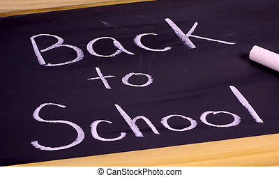 Back To School - Blackboard - Back To School in Chalk
