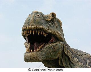 t-rex - -rex dinosaur