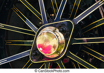 abstract wheel - abstract image of a traction wheel details