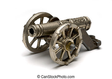 Old Cannon - Isolated cannon