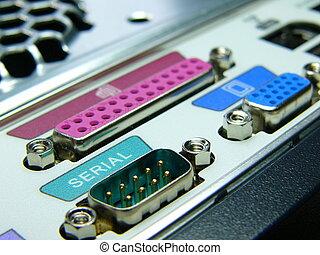 computer rear ports