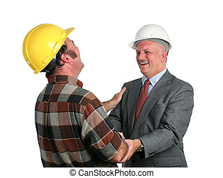 Joke On the Job - an engineer and a construction foreman...