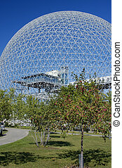 Dome Building - Futuristic Dome Building