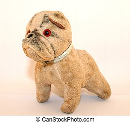 Toy Dog - An old toy dog