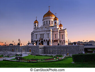 Church in Moscow - Christ the Savior Cathedral - the main...