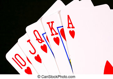 Flush - Royal Straight Flush