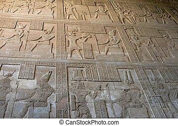 Hieroglyphics, Egypt, Africa