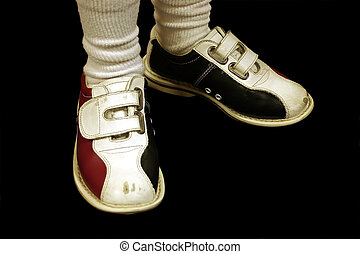 Bowling Shoes Isolated