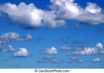 Clouds Horizontal - A beautiful picturesque sky.