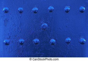 metallic background - blue abstract metallic background