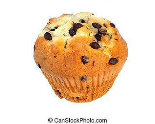 Muffin - chocolate chip muffin