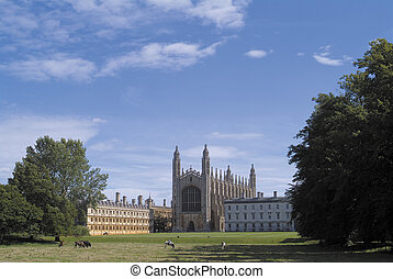 Kings College Chapel, Cambridge - The world famous Chapel of...
