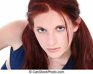 Teen Girl Close Up