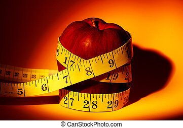 Apple Diet - Healthy Eating Concept