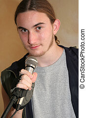 Lead Singer - the teen-aged lead singer of a rock band