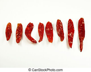 Dried Chili Peppers - Dried Red Chili Peppers