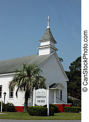 Christian Church - An old Christian church in south Georgia
