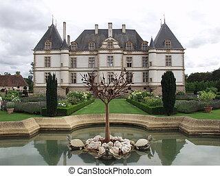 Chateau de Cormatin - Castle de Cormatin, Bourgogne, France...