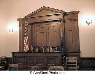 Carson, ciudad, tribunal