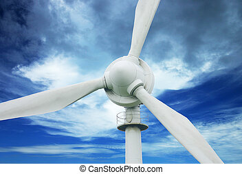Wind Power - North Queensland wind turbine.