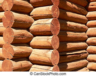Log Building - Log building in Banff township, Banff...