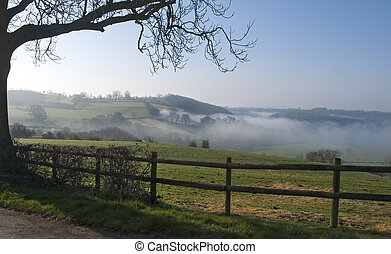 Misty View - A misty morning view
