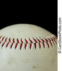 Baseball Macro with black background space available