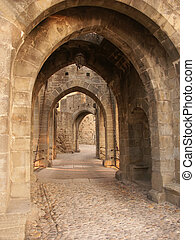Gates through time - The entrance gate of the old city...
