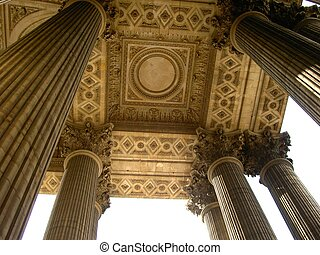 ancient pillars - architecture