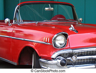 Classic Red - classic red convertible