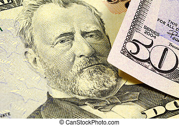 Grant - President Grant on the Fifty Dollar Bill