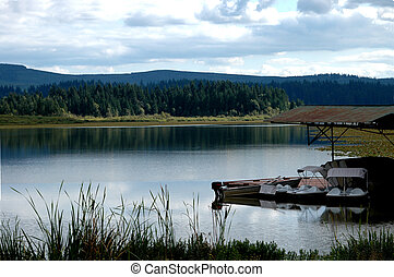 Tranquil Lake - A beautiful Oregon Lake setting